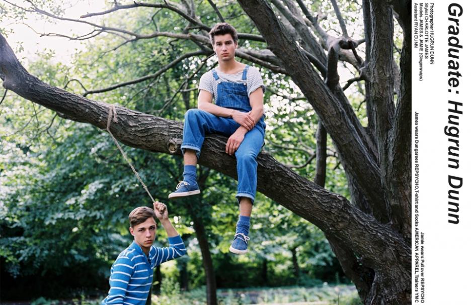 Gay boy woods